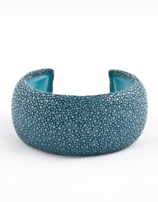 Armband roggenleer marineblauw