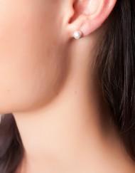 sterling zilver bolletjes oorbellen