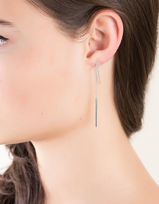 sterling zilver oorbellen drops