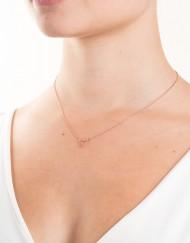sterling zilver halsketting met driehoekje