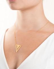 sterling zilver vierkante halsketting